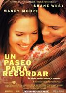 A Walk to Remember - Spanish Movie Poster (xs thumbnail)