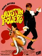 Austin Powers: International Man of Mystery - French Movie Poster (xs thumbnail)