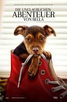 A Dog's Way Home - German Movie Poster (xs thumbnail)