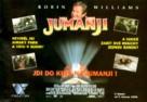 Jumanji - Czech Movie Poster (xs thumbnail)