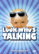 Look Who's Talking - DVD cover (xs thumbnail)