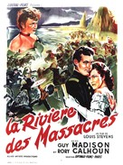 Massacre River - French Movie Poster (xs thumbnail)