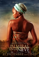Palmeras en la nieve - Spanish Movie Poster (xs thumbnail)