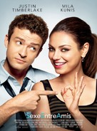 Friends with Benefits - French Movie Poster (xs thumbnail)