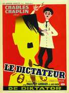 The Great Dictator - Belgian Movie Poster (xs thumbnail)