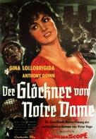 Notre-Dame de Paris - German Movie Poster (xs thumbnail)