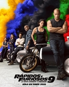 Fast & Furious 9 - Argentinian Movie Poster (xs thumbnail)
