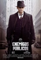 Public Enemies - Spanish Movie Poster (xs thumbnail)