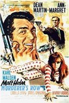 Murderers' Row - Movie Poster (xs thumbnail)