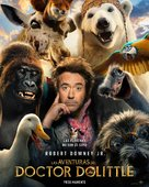 Dolittle - Spanish Movie Poster (xs thumbnail)