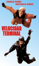 Terminal Velocity - Spanish VHS movie cover (xs thumbnail)