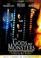 Gods and Monsters - French DVD cover (xs thumbnail)