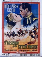 Escape from Fort Bravo - Italian Movie Poster (xs thumbnail)