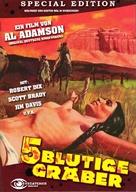 Five Bloody Graves - German DVD cover (xs thumbnail)