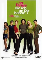 10 Things I Hate About You - German DVD movie cover (xs thumbnail)