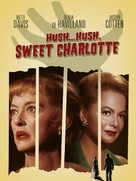 Hush... Hush, Sweet Charlotte - DVD movie cover (xs thumbnail)