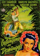 East of Sumatra - German Movie Poster (xs thumbnail)