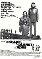 Escape from the Planet of the Apes - Movie Poster (xs thumbnail)
