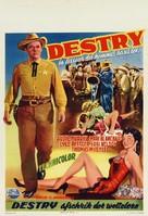 Destry - Belgian Movie Poster (xs thumbnail)