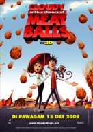 Cloudy with a Chance of Meatballs - Movie Poster (xs thumbnail)
