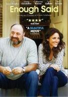 Enough Said - DVD movie cover (xs thumbnail)
