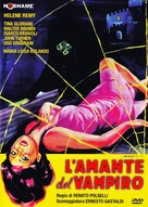 L'amante del vampiro - Italian DVD cover (xs thumbnail)