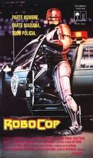 RoboCop - Spanish VHS movie cover (xs thumbnail)