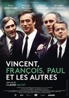 Vincent, François, Paul... et les autres - French Re-release poster (xs thumbnail)