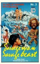 Ultime grida dalla savana - Norwegian VHS cover (xs thumbnail)