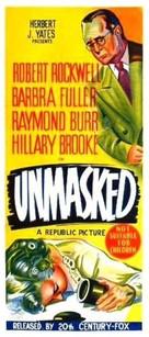 Unmasked - Australian Movie Poster (xs thumbnail)