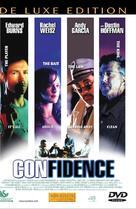 Confidence - Danish DVD cover (xs thumbnail)