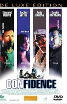 Confidence - Danish DVD movie cover (xs thumbnail)