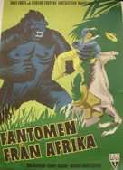 Mighty Joe Young - Swedish Movie Poster (xs thumbnail)