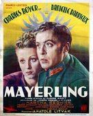 Mayerling - Belgian Movie Poster (xs thumbnail)