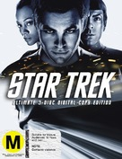 Star Trek - New Zealand Blu-Ray cover (xs thumbnail)