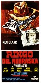 Ringo del Nebraska - Italian Movie Poster (xs thumbnail)