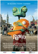 Rango - Slovak Movie Poster (xs thumbnail)