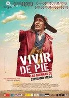 Vivir de pie. Las guerras de Cipriano Mera - Spanish Movie Poster (xs thumbnail)