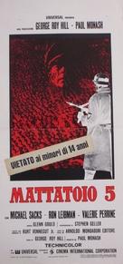 Slaughterhouse-Five - Italian Movie Poster (xs thumbnail)