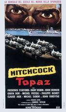 Topaz - Italian Theatrical movie poster (xs thumbnail)