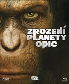 Rise of the Planet of the Apes - Czech Blu-Ray cover (xs thumbnail)