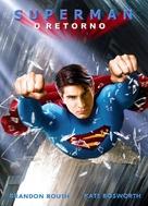 Superman Returns - Brazilian DVD movie cover (xs thumbnail)