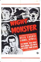 Night Monster - Movie Poster (xs thumbnail)
