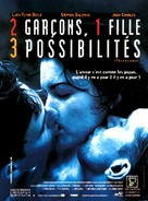 Threesome - French Movie Poster (xs thumbnail)