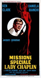 Missione speciale Lady Chaplin - Italian Movie Poster (xs thumbnail)