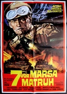 I sette di Marsa Matruh - German Movie Poster (xs thumbnail)