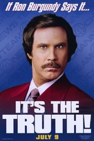 Anchorman: The Legend of Ron Burgundy - Movie Poster (xs thumbnail)