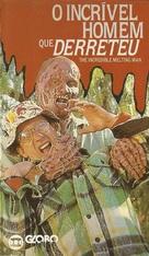 The Incredible Melting Man - Brazilian VHS cover (xs thumbnail)