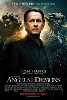 Angels & Demons - Icelandic Movie Poster (xs thumbnail)