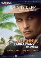 The Rum Diary - Polish DVD movie cover (xs thumbnail)
